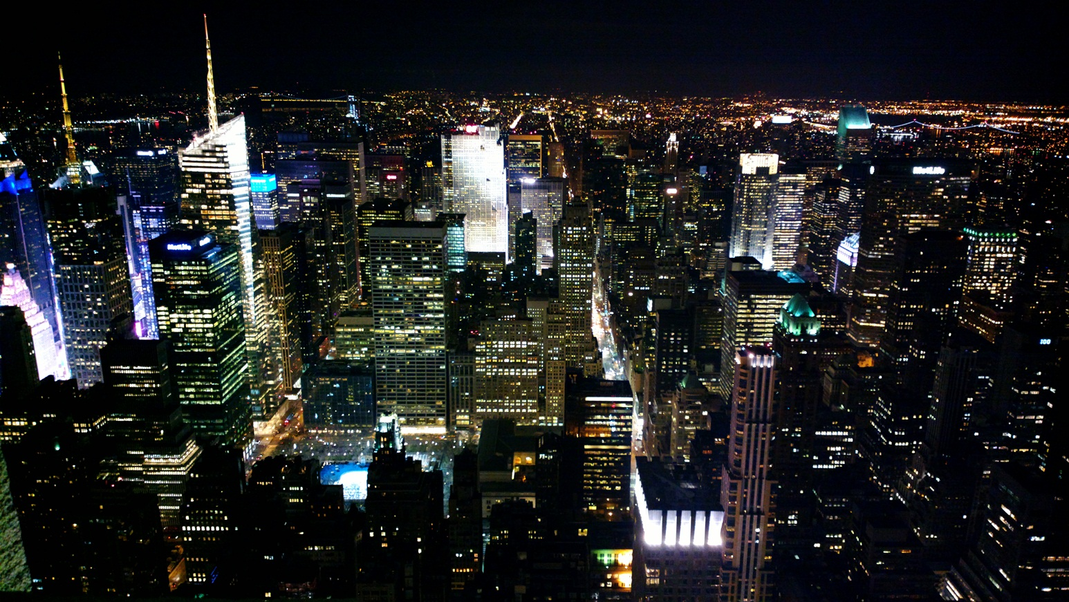 NY from the Empire State, 86 floor.