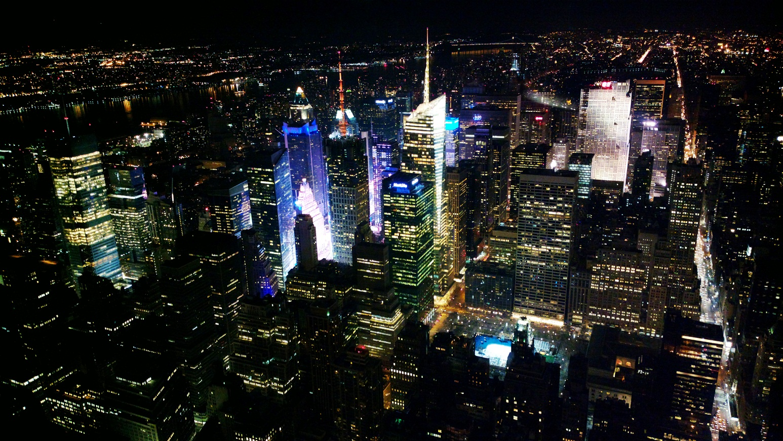 NY from the Empire State, 102 floor.