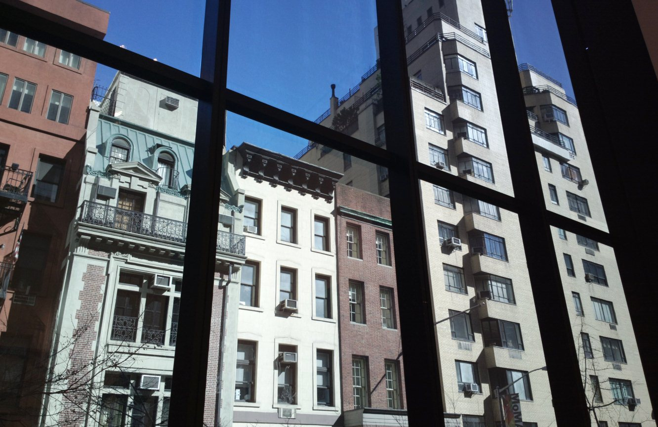 View from MOMA window.