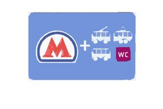 Transport + WC in Moscow post logo 2